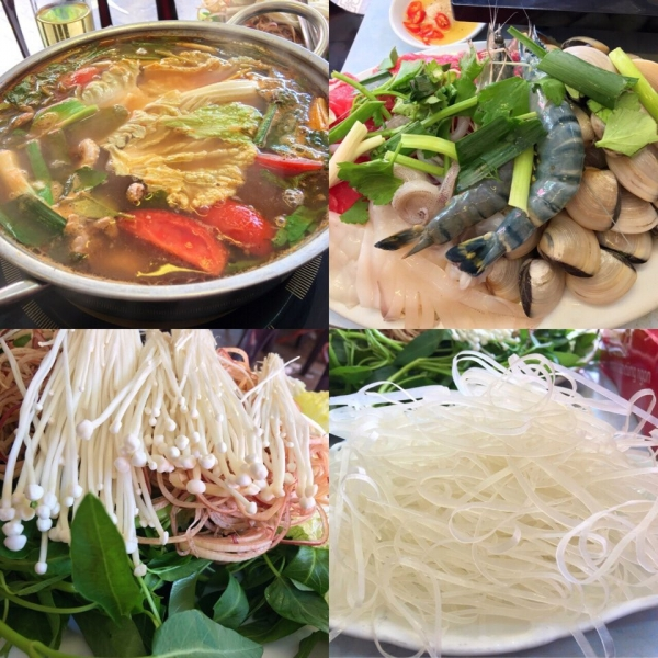 Lẩu Thái chua cay 300 -  400K